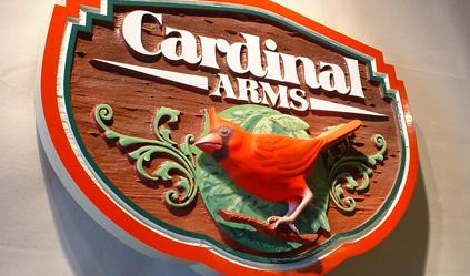 Custom Sign - Cardinal - The Sign Depot