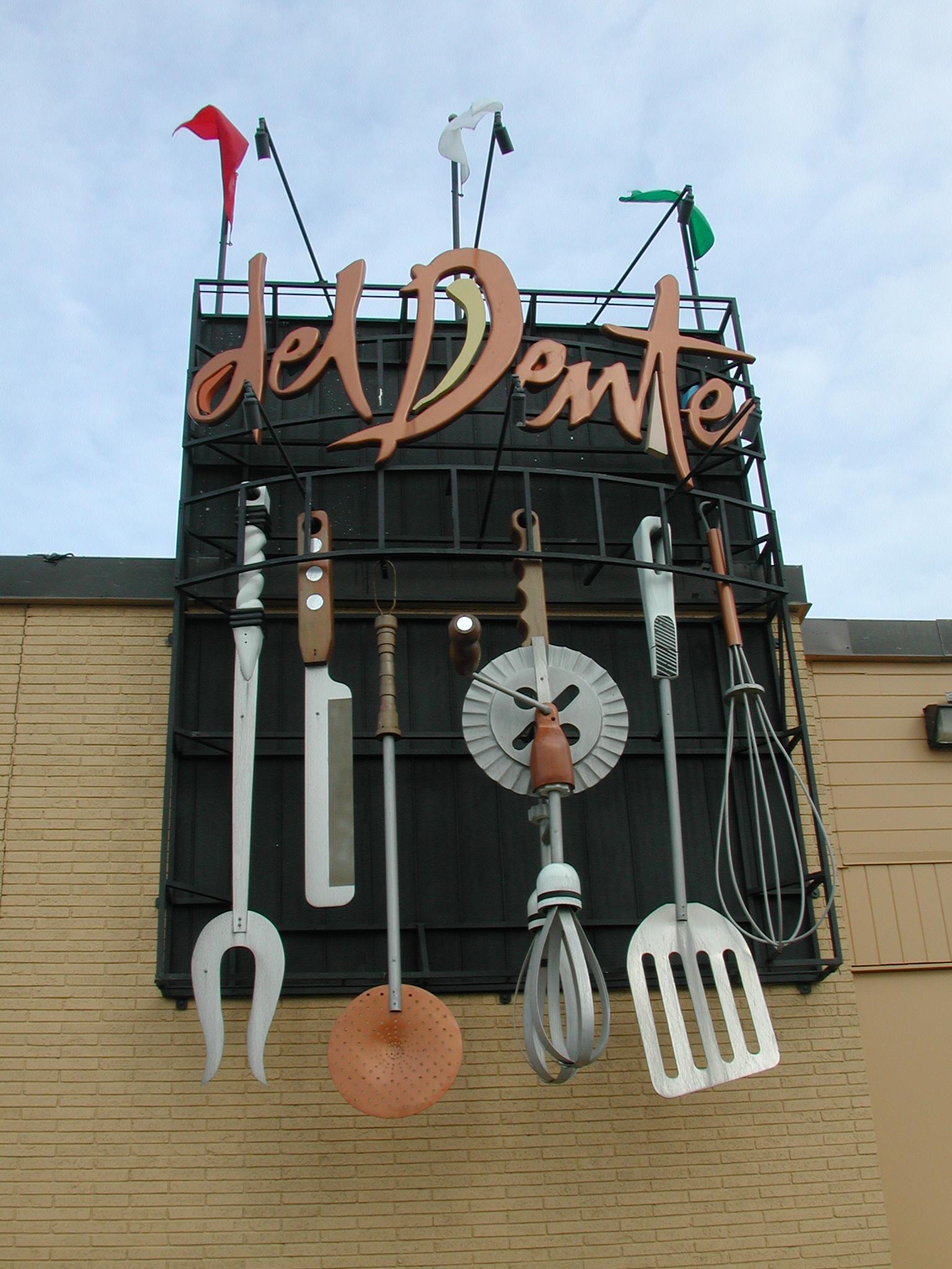 Del Dente Kitchener Menu