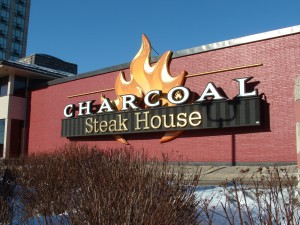 Charcoal Steak House - High Density Urethane - The Sign Depot