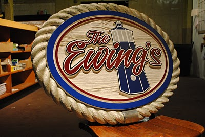 Personalized Wood Cottage Signs - The Sign Depot