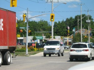 Borden Ave & Charles St Kitchener Ontario - The Sign Depot