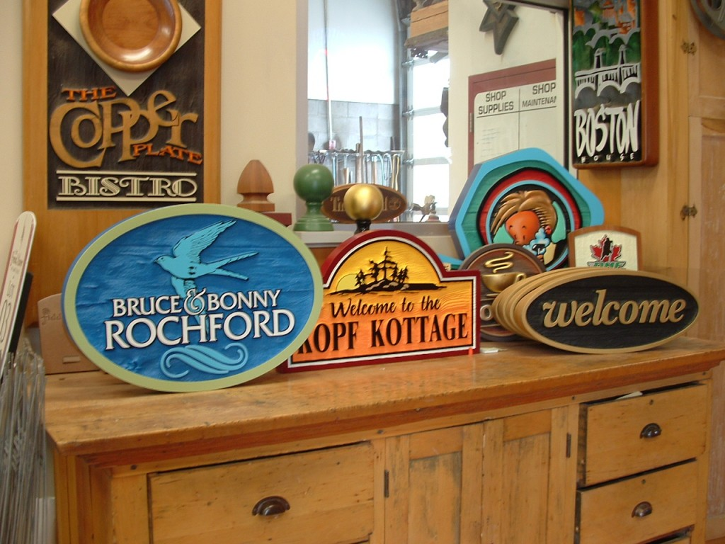 the sign depotcustom wood cottage signs and making memories. Black Bedroom Furniture Sets. Home Design Ideas