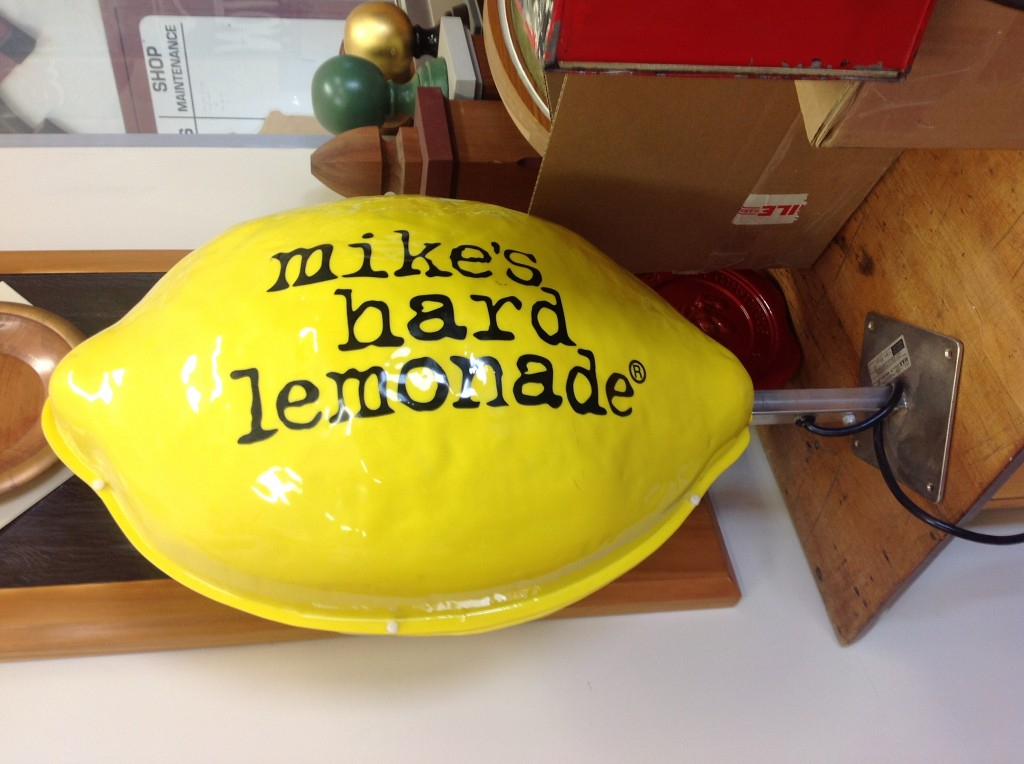 Mike's Hard Lemonade sign - The Sign Depot