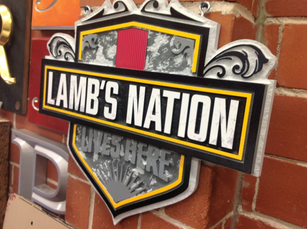 Lamb's Nation Rum Sign - The Sign Depot