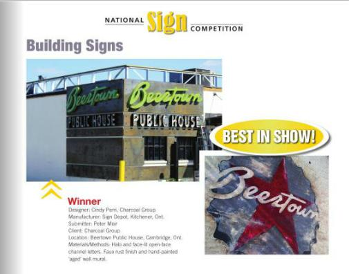 Award Winning Sign - The Sign Depot