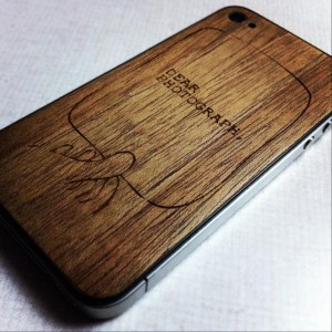 Dear Photograph, Wood iPhone Case