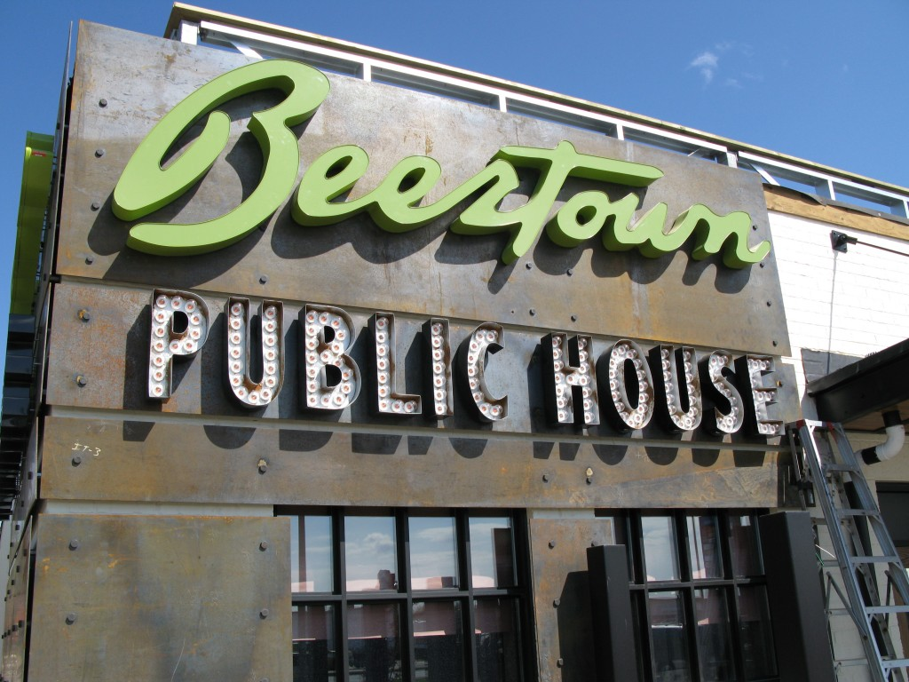 Beertown Sign - The Sign Depot