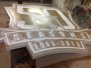 Custom Dimensional Sign - Kitchener Rangers - The Sign Depot