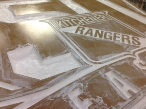 Dimensional Interior Signs - Kitchener Rangers - The Sign Depot