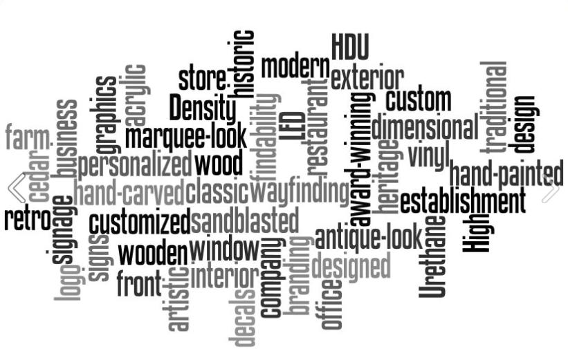 Sign Depot Keywords - Custom Business Signs