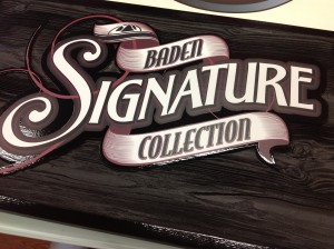 Custom Sign - Baden Coffee - The Sign Depot