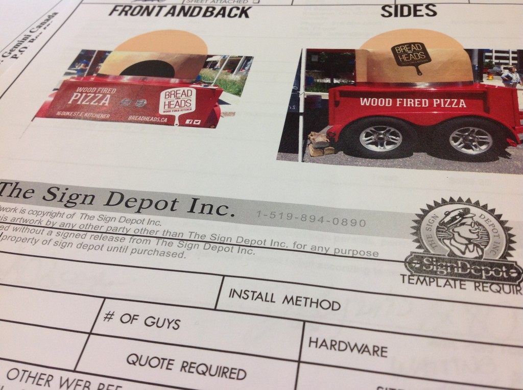 Custom Vehicle Graphics - The Sign Depot
