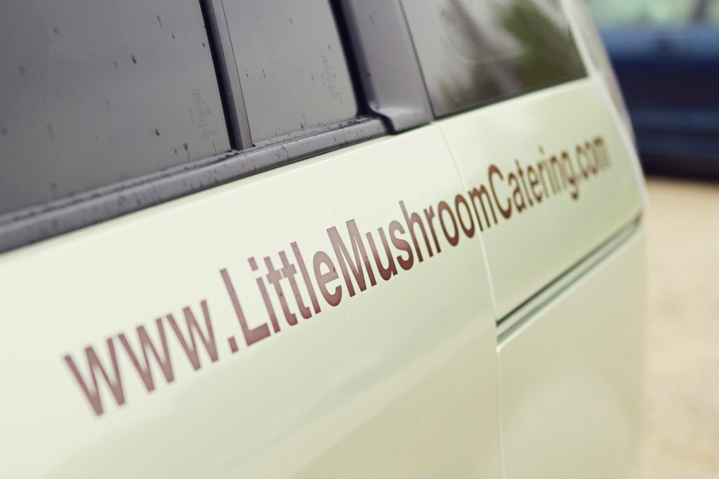 Little Mushroom Vehicle Sign - The Sign Depot