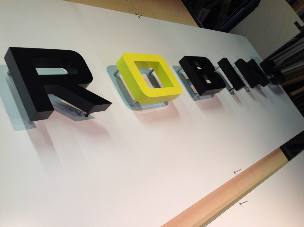 Custom Business Sign - Robins Goldsmithing - The Sign Depot
