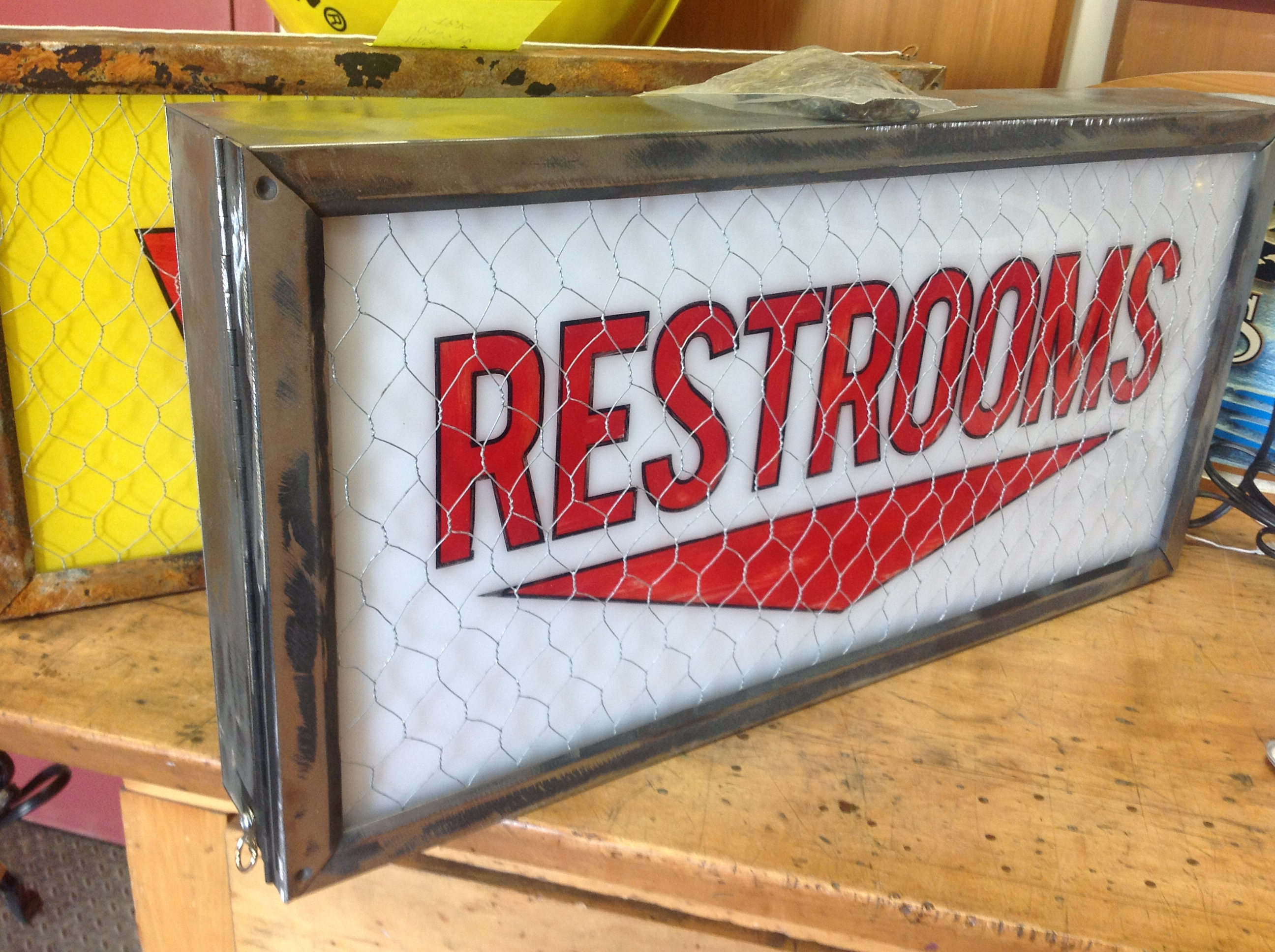 Washroom Sign - Restroom Sign - Interior Signs - The Sign Depot