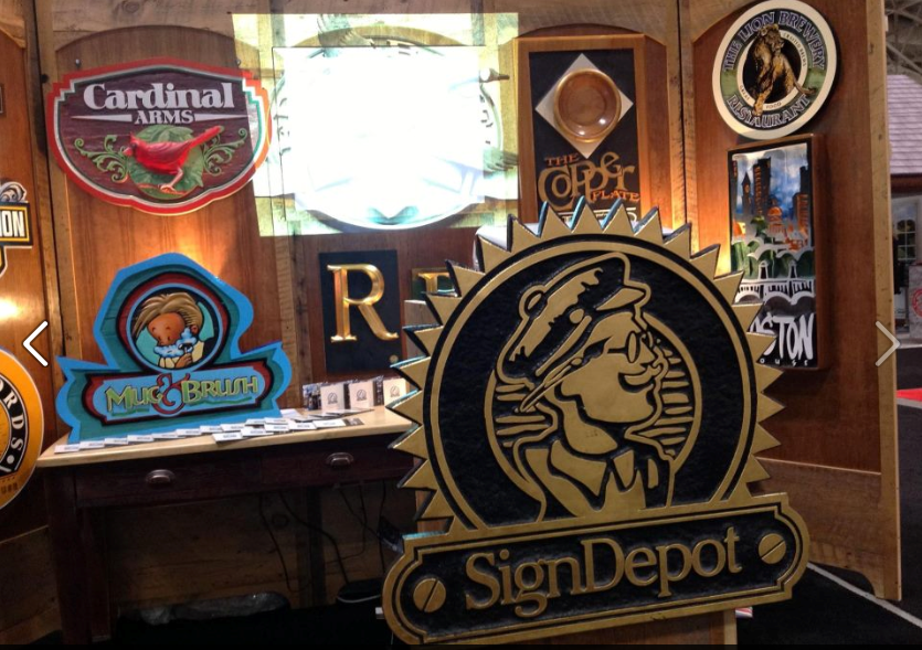 Custom Sign - Trade Show Booth - Display - The Sign Depot