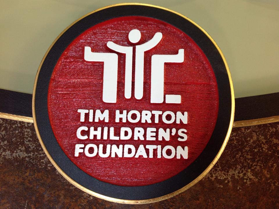 Custom Sign - Tim Horton Children's Foundation Memorial Camp - The Sign Depot