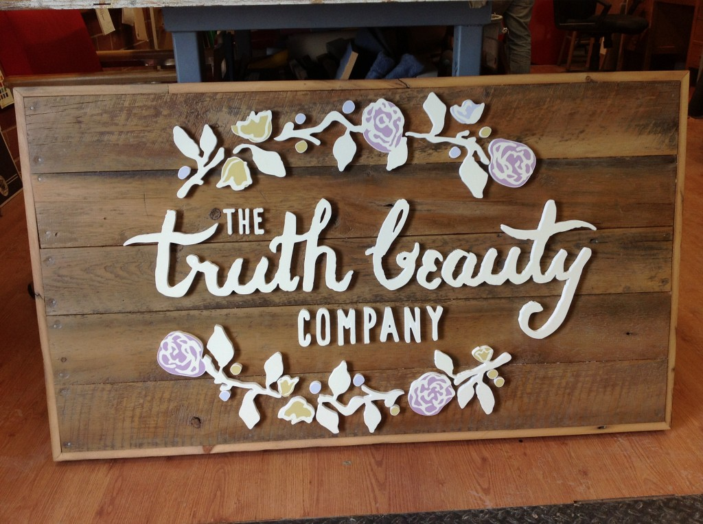 The Sign Depotcustom Vintage Look Wood Signs Truth