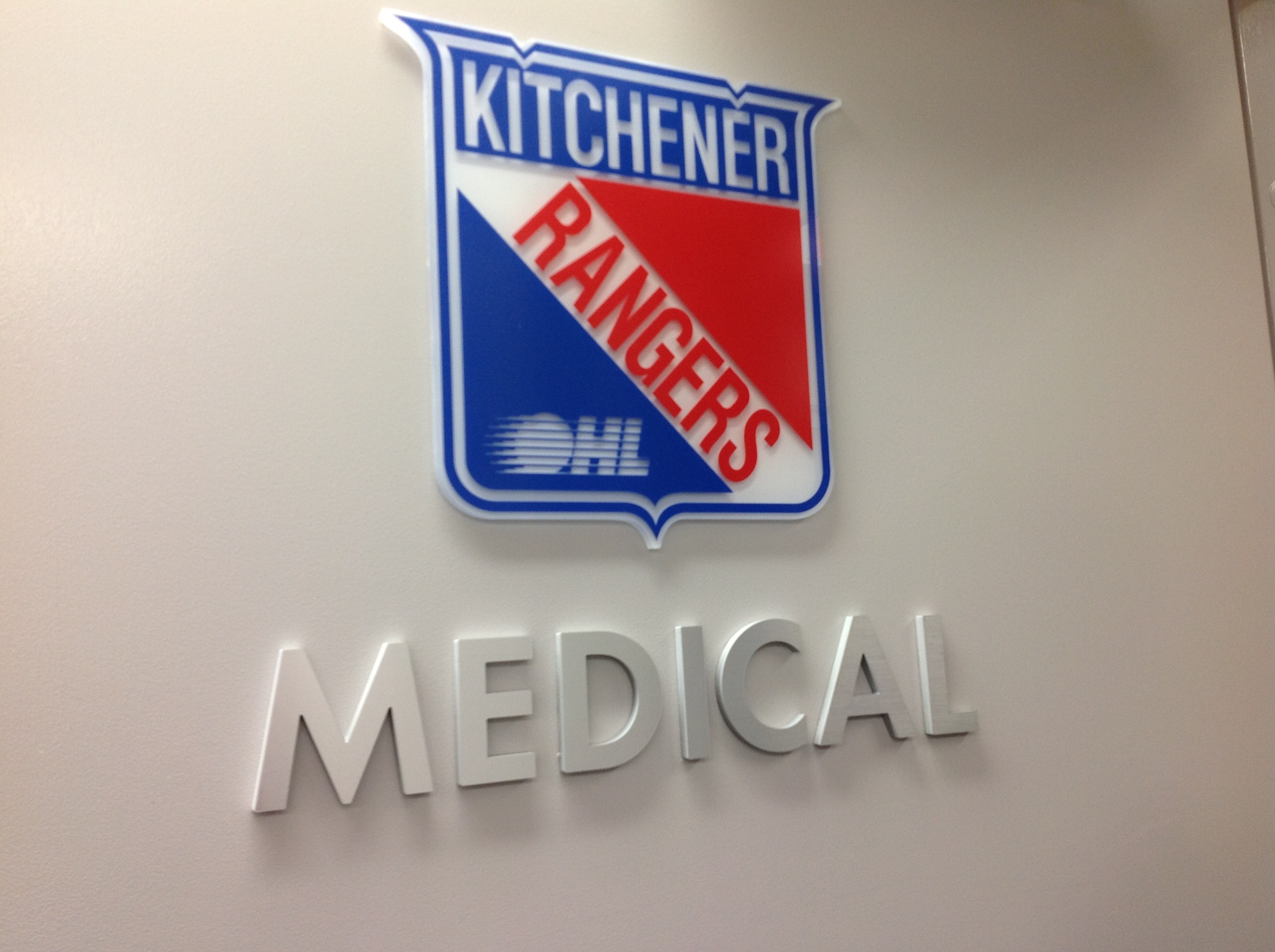 The Sign Depotcustom Interior Signs Kitchener Rangers The Sign Depot The Sign Depot