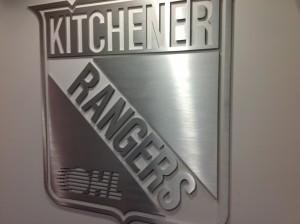Custom Interior Signs - Kitchener Rangers - The Sign Depot