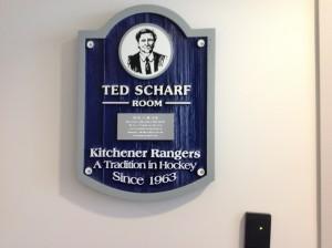 Custom Sandblasted Sign - Kitchener Rangers - The Sign Depot