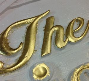 Gold Leaf Custom Signs - The Sign Depot
