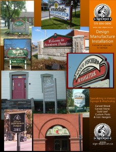 historic sign - The Sign Depot