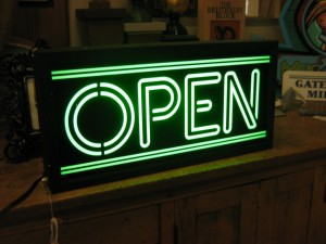 Open Sign - Interior Signs - The Sign Depot
