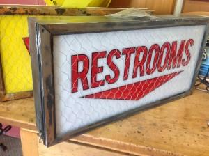 Washroom Sign - Restroom Sign - Interior Signs - The Sign Depot