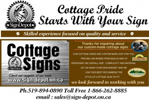 How Much Does A Custom Cottage Sign Cost - The Sign Depot