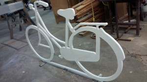 Custom Business Signs - Berlin Bicycle Cafe - The Sign Depot