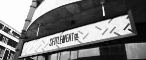 Custom Business Sign - Settlement Co - The Sign Depot