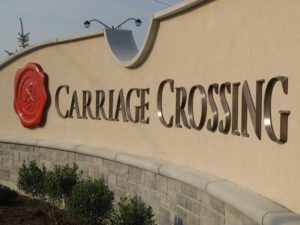 Lagom - Carriage Crossing - Custom Sign - The Sign Depot