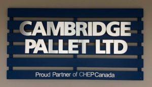 Collaborative Sign Design - Cambridge Pallet - The Sign Depot