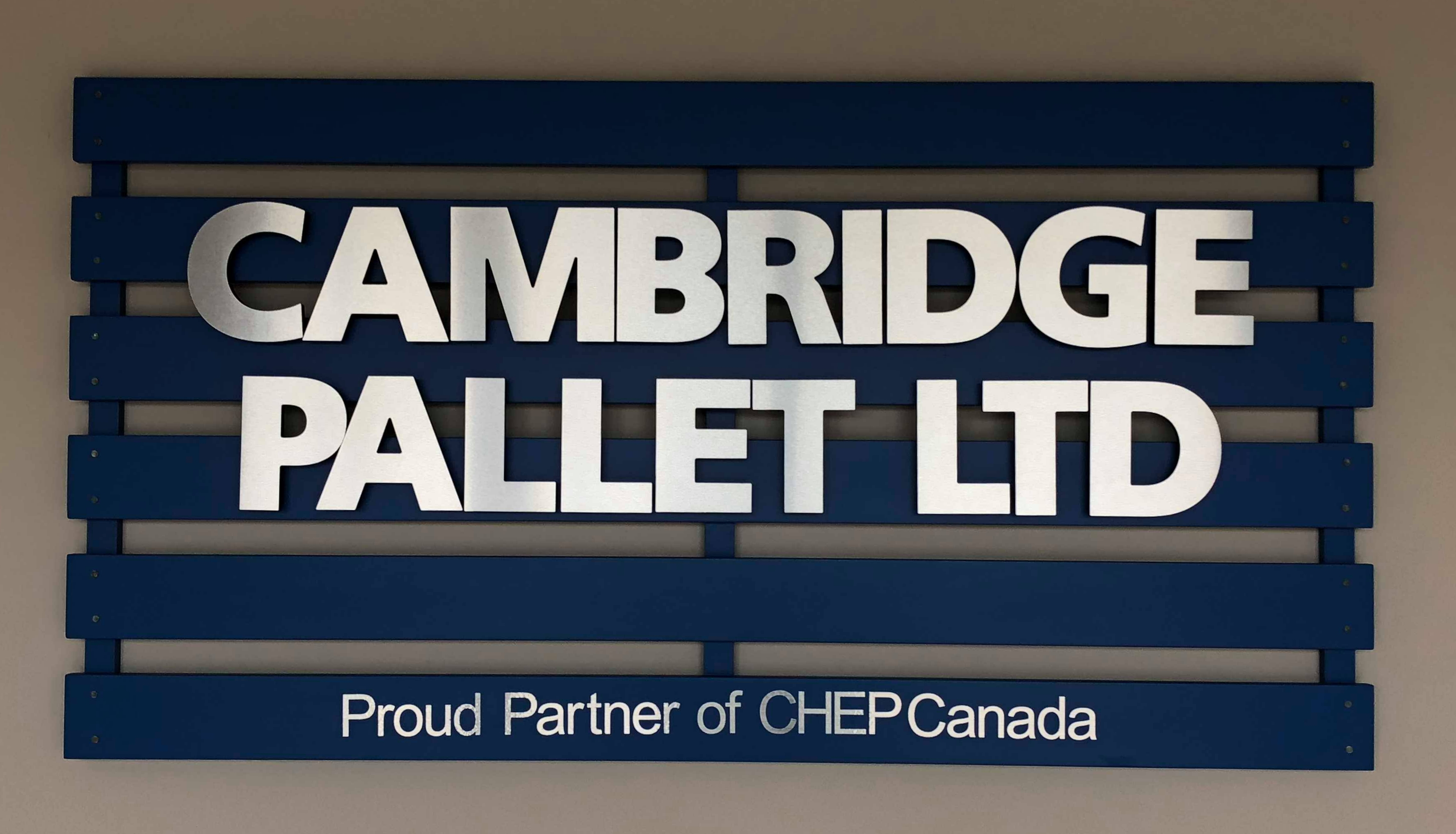 Collaborative Sign Design - Cambridge Pallet - The Sign Depot