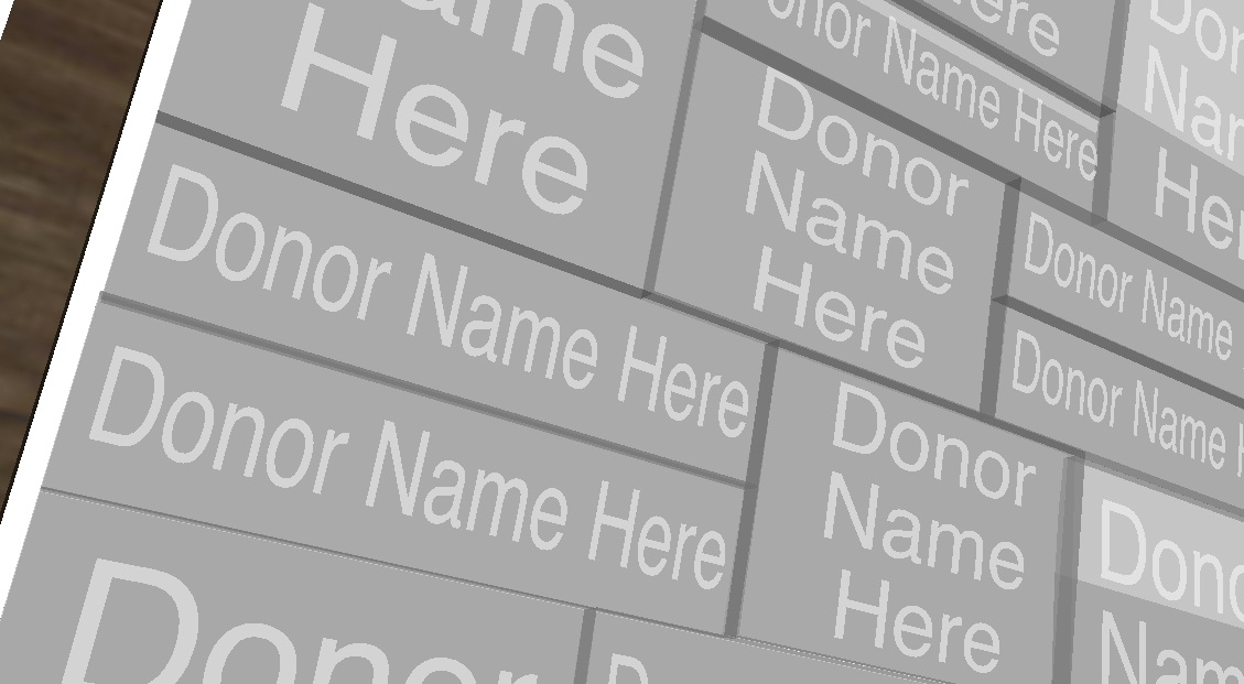 Donor Recognition - The Sign Depot - St. Pauls University College