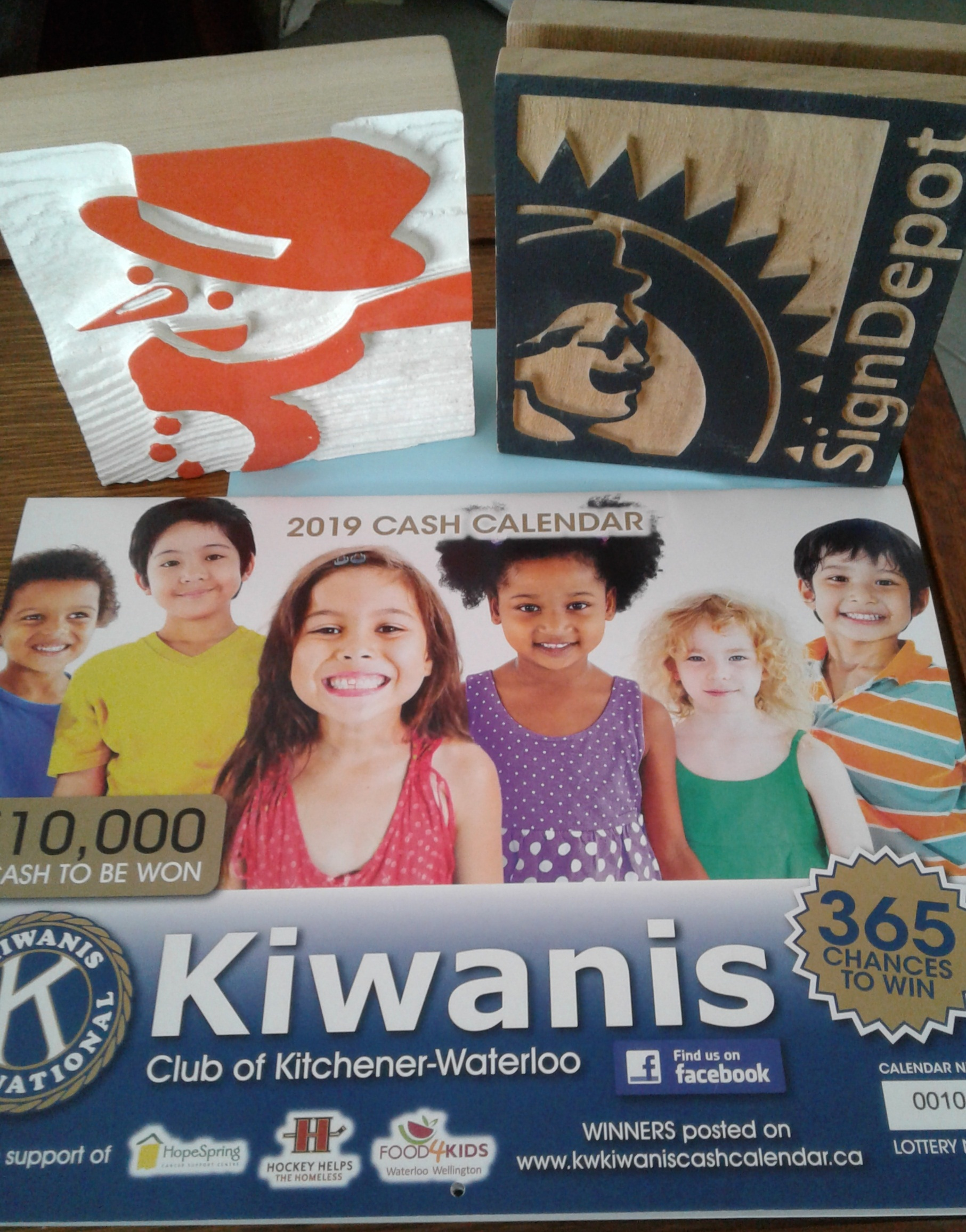 KW Kiwanis Cash Calendar - The Sign Depot