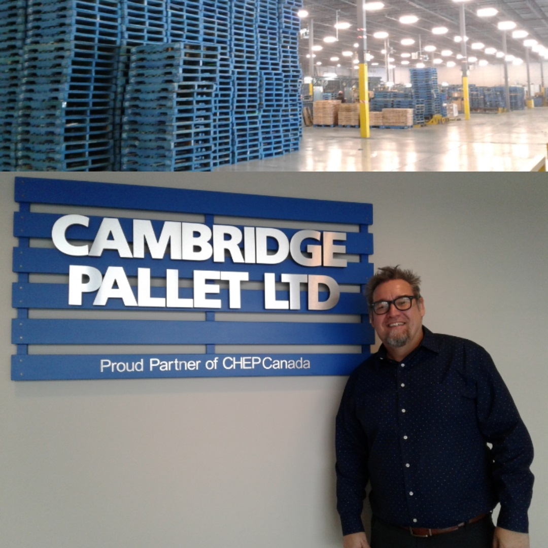Business Signs - Cambridge Pallet Ltd - The Sign Depot