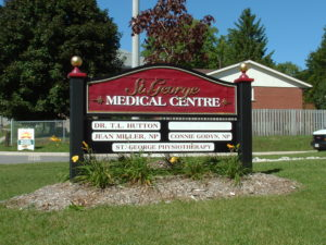 Doctor's Sign - Custom Business Signs - The Sign Depot