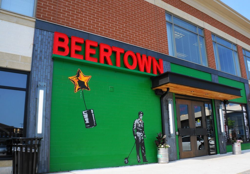 Restaurant Signs - Beertown Oakville - The Sign Depot