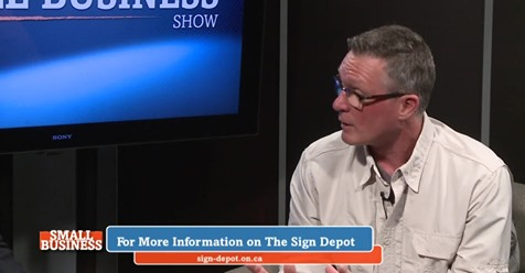 Small Business Show - The Sign Depot